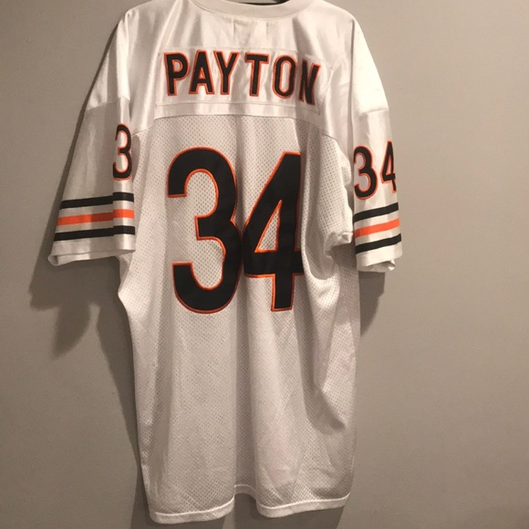 online store 266a4 b8b4a Walter Payton throwback Mitchell & Ness Jersey